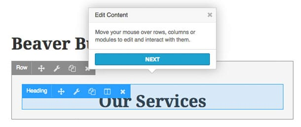 beaver editing_content
